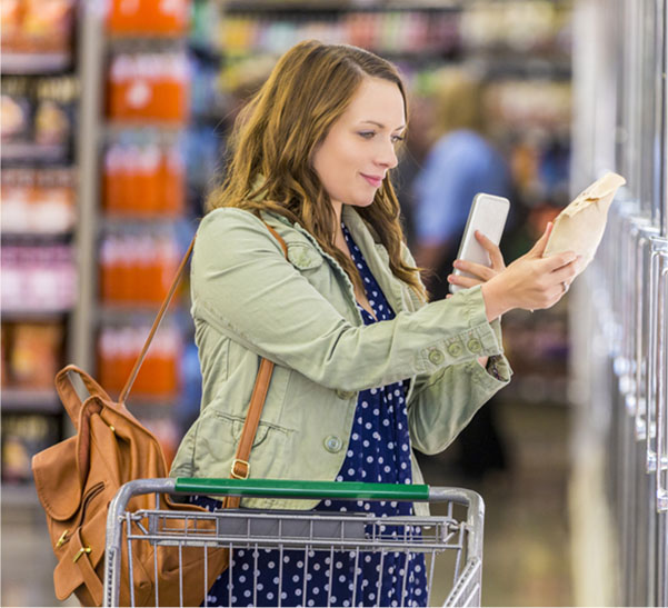 NCP provides households with scanning hardware technology, or access to our mobile app, to enter and transmit their shopping information.