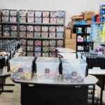 The Giving Plate stockroom
